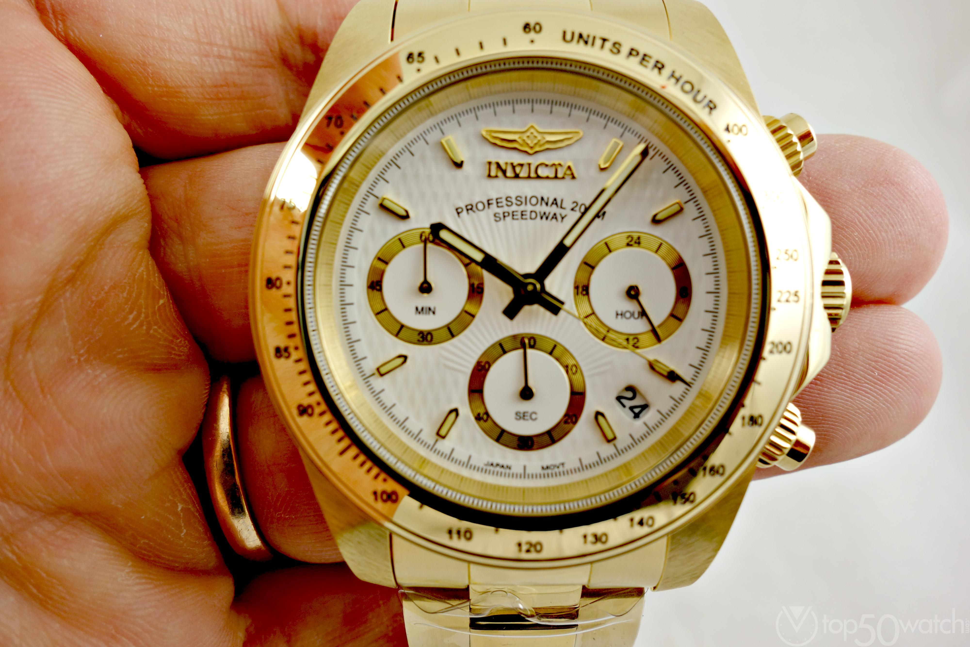 Invicta Signature Speedway Stainless Steel Chronograph